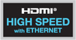 HDMI Highspeed met ethernet
