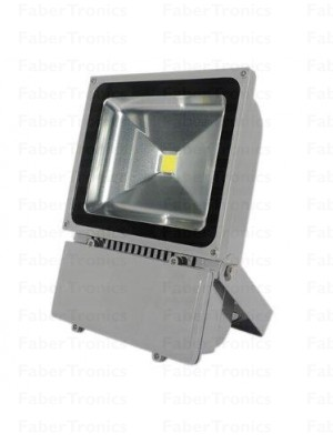 100W LED bouwlamp / Floodlight koud wit