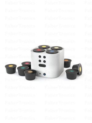 Moodo Smart aroma diffuser wit incl. capsule set (met een stekker)