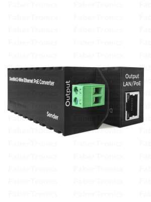 DoorBird 2-Wire Ethernet PoE Converter A1071