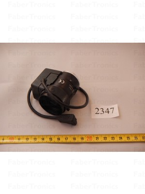 CCTV cameralens 1:1.4 6-12mm Ø35,5 *zie omschrijving