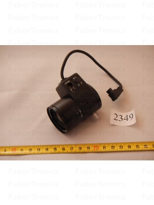 CCTV Cameralens Yamano Y1308M 8mm 1:1.3  *zie omschrijving