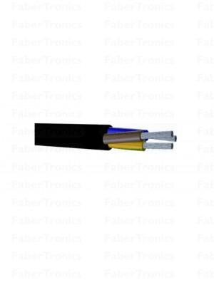 Eupen RMRL H05RR-F kabel 3X2.5 Zwart