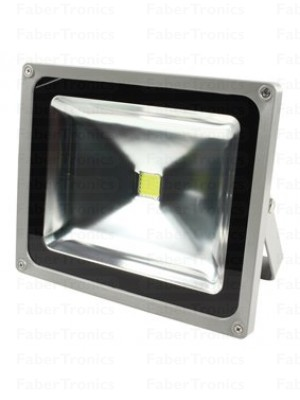20W LED bouwlamp / Floodlight koud wit