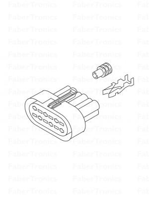 Webasto hoofdstekker Thermo 90 Pro