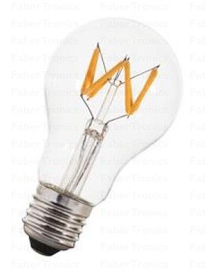 Bailey LED Filament Wave A60 E27 240V 6W 2200K Dimm