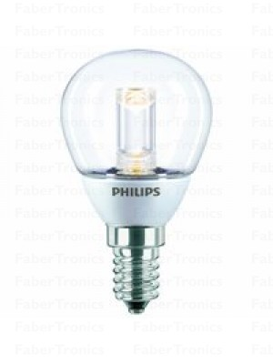 Philips LED lamp E14 2W(10W) kogel helder