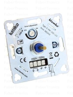 Klemko LED Inbouwdimmer D-PAF-200