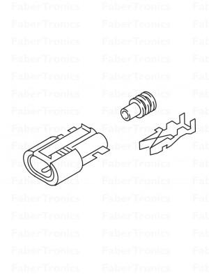 Webasto stekker elektronica brandstofpomp Thermo Pro 90