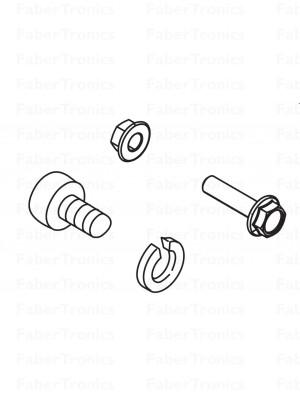 Webasto onderdelen montagebeugel Thermo 90