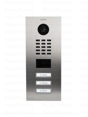 DoorBird IP Deurintercom D2103V, V2A, geborsteld RVS