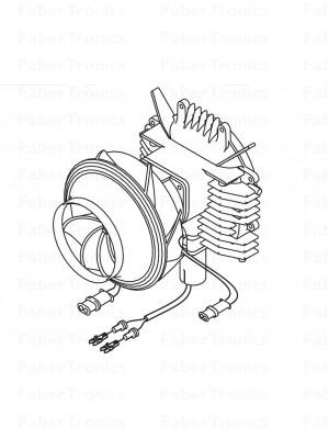 Webasto ventilatormotor Dual Top