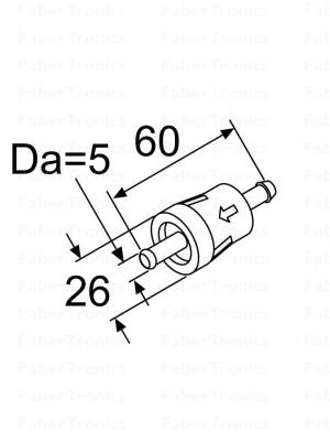 Webasto Brandstoffilter inline 5mm