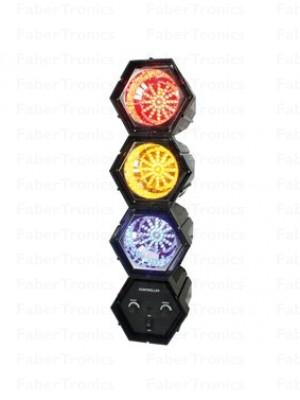 LED linkspot / Lichtorgel 3 kleuren