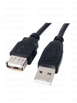 USB 2.0 verlengkabel A male - A Female 2m