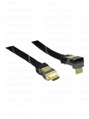 High speed met Ethernet HDMI kabel 10m 90°