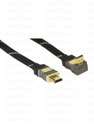 High speed met Ethernet HDMI kabel 10m 270°