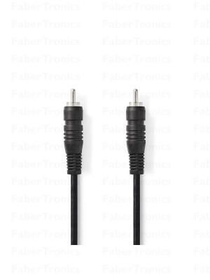 RCA kabel 2m Digitale Audiokabel