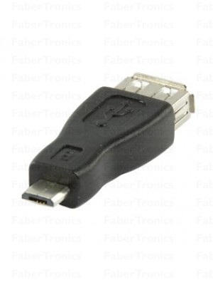 USB A female - USB B micro adapter
