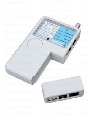Netwerk en usb kabel tester