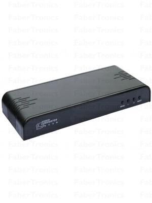 CVBS-YpbPr-VGA naar HDMI converter