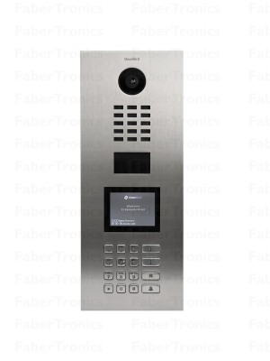 DoorBird IP Deurintercom D21DKV voor appartementen en verzamelgebouwen