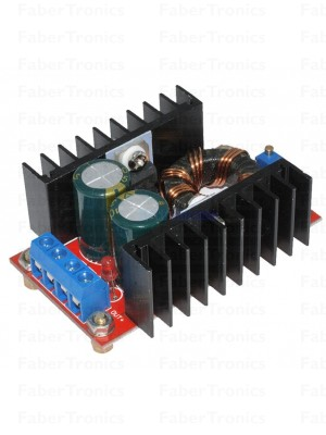 DC-DC spanningsomvormer instelbaar 10 - 30V 10A