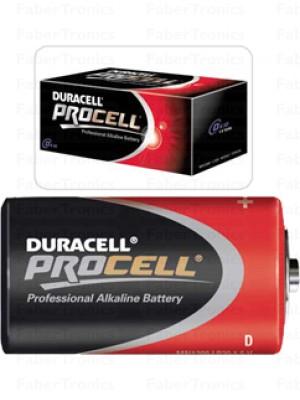 Duracell ProCell D batterij