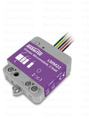 LMM22 dimmer micromodule twee kanalen