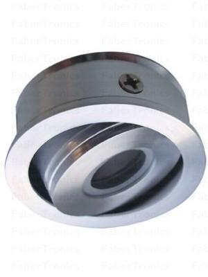 Aluminium Luzern LED inbouwmodule groen