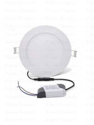 LED inbouwpaneel 9W warm wit 145mm