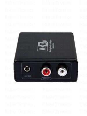Analoog naar digitaal audio converter - Huismerk