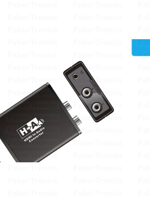 HDMI naar analoog audio converter - Huismerk