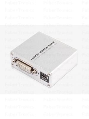 Mini displayport naar HDMI + DVI + VGA converter - Huismerk