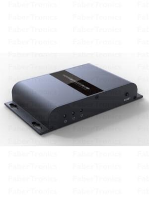 HDMI extender over glasvezel met IR (20km) - Huismerk