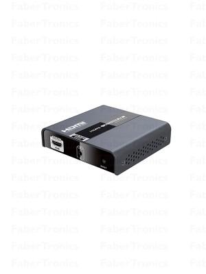 Extra ontvanger voor 4K 60Hz HDMI 2.0 extender over LAN + IR