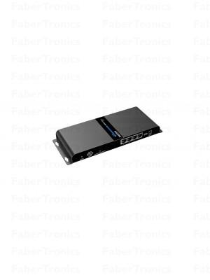 HDMI 4 poort extender + splitter over UTP HDbit-T - Huismerk