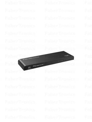HDMI splitter 8-poort 3D 4K EDID HDR Pro - Huismerk