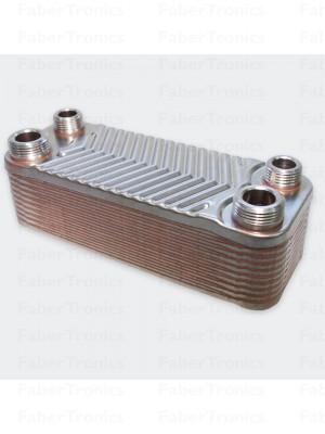 RVS platenwisselaar warmtewisselaar 44kW