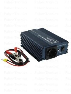 HQ omvormer 24-230V 300W Zuivere sinus