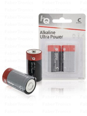 Alkaline C-batterij blister 2 stuks