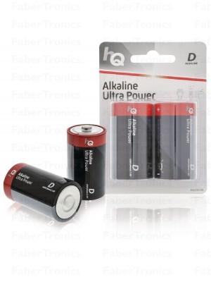 HQ D batterij per 2