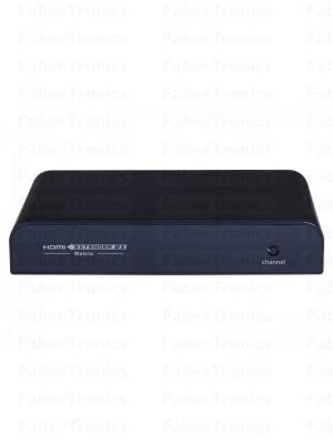 HDMI extender over TCP/IP LAN Matrix met IR - Huismerk