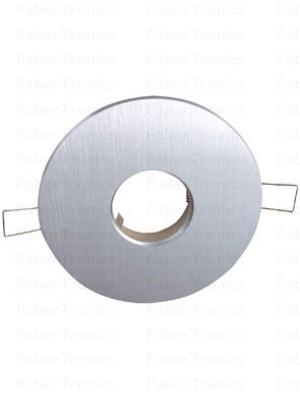 Rond Luzern / Verona inbouwarmatuur Aluminium 120mm
