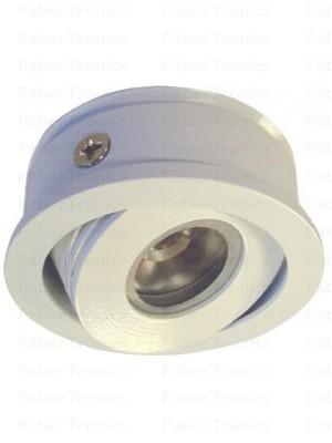 Witte Luzern LED inbouwmodule warm wit