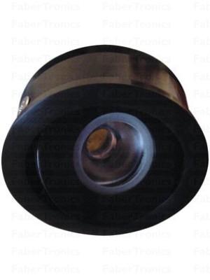 Zwarte Luzern LED inbouwmodule blauw