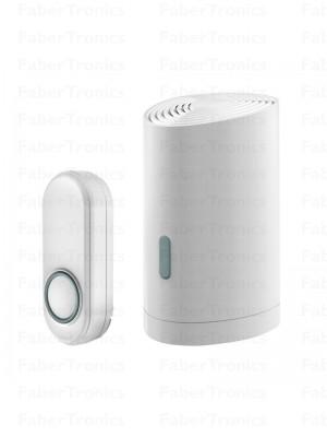KlikaanKlikuit Mobiele draadloze deurbelset ACDB-9000AC