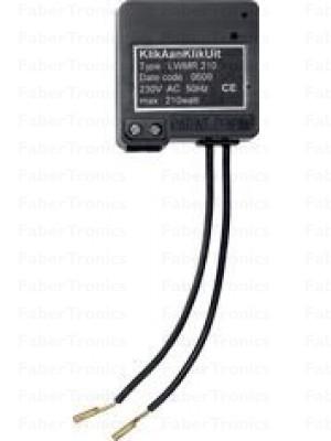 AWMR-210 Mini inbouw dimmer/schakelaar