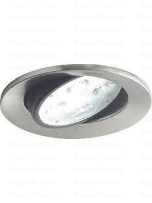 Lumiance Instar LED inbouwspot rond Aluminium 12W