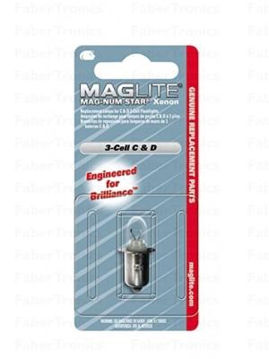 Lampje Maglite Mag-numstar Xenon 3-cell C & D Xenon